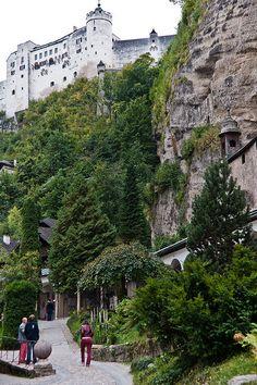 View from Old Town - Salzburg, Austria
