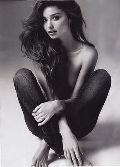 MILF Wednesday  #mirandakerr #australian #model #babe #milf #blackandwhite #classy