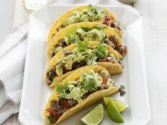 Taco's met rundvlees en guacamole - Libelle Lekker!