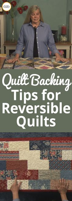A quilt backing is usually one of the last things quilters think about when planning out a project. Rather the fabric, pattern and quilting motif or design comes first. ZJ Humbach explains why it is important to think about a quilt backing from the very beginning.