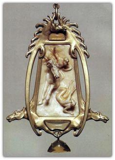 René Lalique | Art Nouveau Pendant (n.d.)