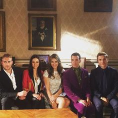Picture perfect family and cast.  #TheRoyals