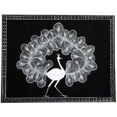 Peacock Warli Art