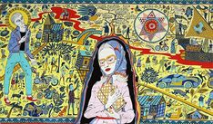 The tapestry by Grayson Perry will be the first visiting artwork displayed at the refurbished gallery and museum in Walthamstow, east London. Grayson Perry Tapestry, Grayson Perry Art, Turner Contemporary, Contemporary Artists, Francis Picabia, Social Art, Art Brut, Textiles, Pixies