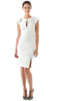 f43af833de Black Halo Eddie Sheath Dress White Sheath Dress