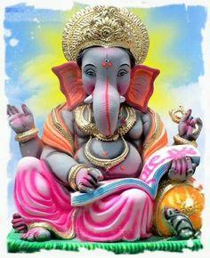Krusha Avtar of Shree Ganesh Lord Ganesha, Lord Shiva, Hindu Deities, Hinduism, Ganesh Wallpaper, Ganesha Pictures, Shree Ganesh, Ganpati Bappa, Shiva Shakti