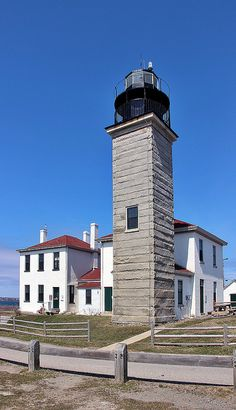 Beavertail Lighthouse, built in 1856, was and still is the premier lighthouse in Rhode Island, USA, marking the entrance to Narragansett Bay.