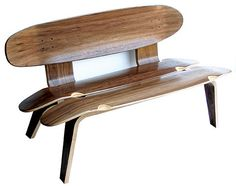 Awesome for a teens room! Skateboard Furniture - Skateboard Chair - Skateboard Clock - Skateboard Table
