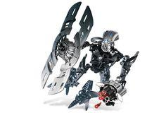 Lego 8918 Bionicle Mahri Nui Barraki Carapar robot complet de 2007 N10
