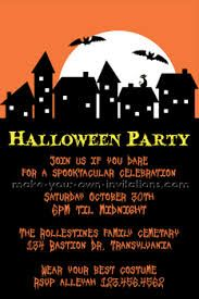 sample halloween invitations wallsviews co