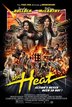 The Heat (2013) +This is one heat-/hit-larious movie. And I think we need more women in law enforcement, seriously.