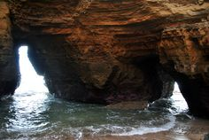 Sea cave at cliffs of Cabrillo National Park, Point Loma, CA. -Photo by Amanda Shields-