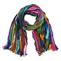 So cute to wear with a wonderful cause! Northern Lights Cotton Scarf at The Autism Site