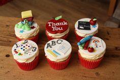 Thank you Teacher cupcakes                                                                                                                                                                                 More