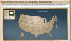 Boating and Fishing License Resources- Listed by State  #boating #fishing #license #resources #state #list #guide #tips #info #advice #fish #boat #boats #boating #salvageboats #auction