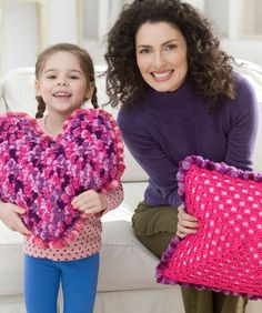 Free Crochet Pillow Party Pattern