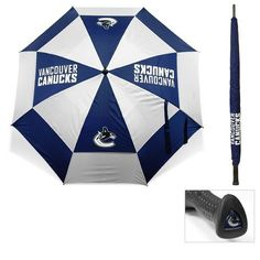 Team Golf Adults' Vancouver Canucks Umbrella - Golf Equipment, Collegiate Golf Products at Academy Sports