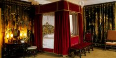 Tapestry Room at Cawdor Castle