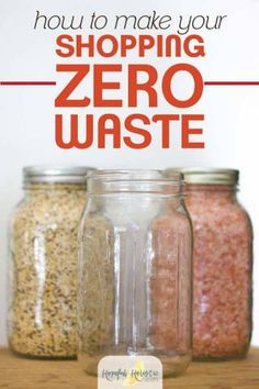 Bulk shopping ideas for a zero waste lifestyle: find out bulk and zero waste shopping tips where to buy bulk and shop zero waste and more tips for food storage and a zero waste grocery shopping trip to help reduce waste and save money! No Waste, Reduce Waste, Plastik Recycling, Bulk Food, Energy Snacks, Food Storage, Storage Ideas, Kitchen Storage, Eating Plans