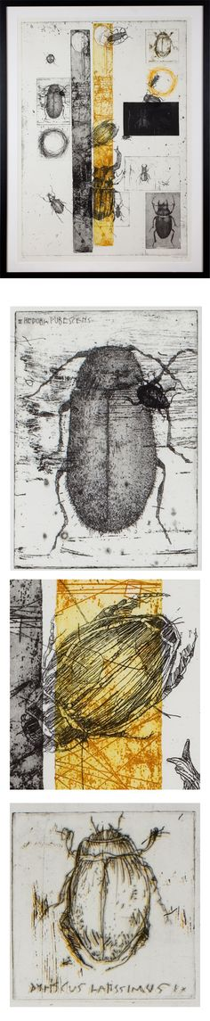 Etchings 2011 by Simon Prades, via Behance