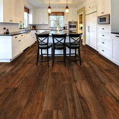Hickory wood Floors Wide Plank is part of Vinyl wood flooring - Welcome to Office Furniture, in this moment I'm going to teach you about Hickory wood Floors Wide Plank Vinyl Wood Flooring, Wood Vinyl, Kitchen Flooring, Hardwood Floors, Basement Flooring, Engineered Hardwood, Laminate Flooring, Dark Flooring, Grey Laminate