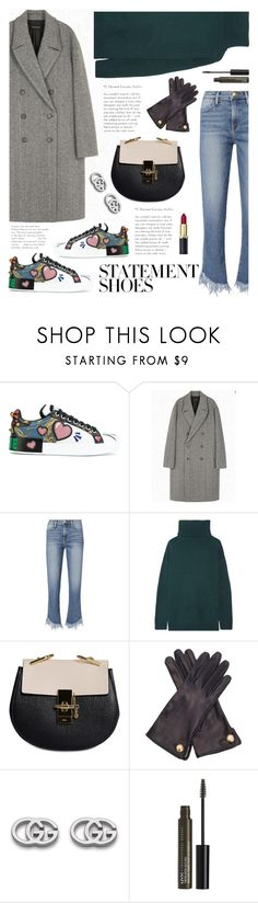 """""""Statement Shoes"""" by orrinn on Polyvore featuring Dolce&Gabbana, Frame, Prada, Chloé, Cornelia James, Gucci and NYX"""