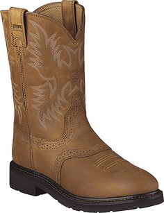 Ariat Sierra Saddle Western Work Boot Style 10 Inch Men Shoes 10002304