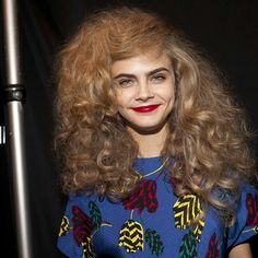Cara ready to walk at Marc by Marc Jacobs Runway