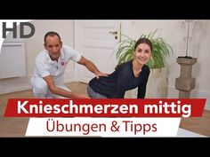 Knee pain exercises to participate // Knee exercises for pain in the knee – … - Fitness for Health Fitness Workouts, Yoga Fitness, Good Back Workouts, Easy Workouts, Knee Pain Exercises, Massage, Health And Wellness, Health Fitness, Eco Slim