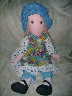This is what *my* Holly Hobbie looked like.