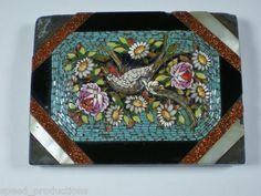 paperweight: antique micro-mosaic
