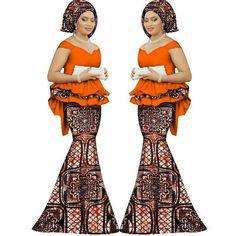 Skirt Set African Dashiki Women Traditional Bazin Print Plus African Summer Clothing Ankara dashiki 2 piece Skirt Top Set for women Cotton Wax Print Plus Size Latest African Fashion Dresses, African Dresses For Women, African Print Fashion, African Attire, African Women, African Outfits, African Beauty, African Blouses, African Dashiki
