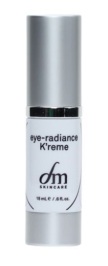 eye-radiance K'reme™ – with grape seed extract.  Eye care for dark circles and puffiness. Luxurious cream illuminates under-eye area with light diffusing, natural pigments. Supports healthy capillary function, which may help against formation of dark circles, while helping to reduce actual pigment deposits with a combination of proven peptide and botanical ingredients.