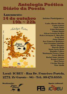 Agenda Cultural RJ: Lançamento do Livro ''Antologia Poética'' - , dia ...