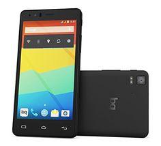 """BQ Aquaris E5 FHD - Smartphone libre Android (pantalla 5"""", cámara 13 Mp, 16 GB, Octa-Core 2 GHz, 2 GB RAM, Android 4.4 KitKat), negro"""