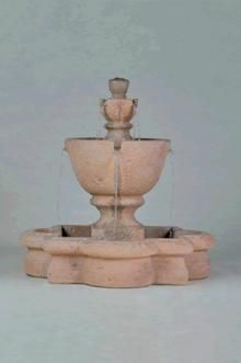 Tuscany Garden Fountain with Basin