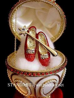 Ruby Slippers Collectable - the-wizard-of-oz Fabergé