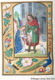 Book of Hours, MS M.399 fol.316v - Images from Medieval and Renaissance Manuscripts - The Morgan Library & Museum