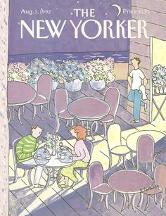 The New Yorker - Monday, August 3, 1992 - Issue # 3520 - Vol. 68 - N° 24 - Cover by : Devera Ehrenberg