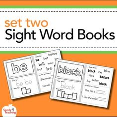 Students need daily practice when it comes to learning sight words! Your class will learn these words in a snap by reading, tracing, writing and putting each word in a sentence. Once they have completed the book, they can cut it apart and staple it together for further reading practice!