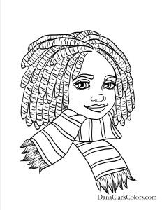169 Best African American Coloring Pages Images Africa Art