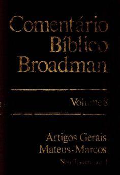 comentário bíblico - Broadman volume 8