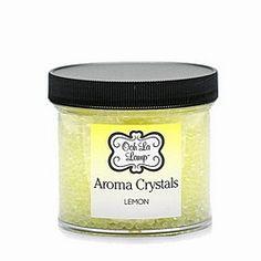 Lemon Ooh La Lamp Crystals Home Candles, Bright Yellow, Lemon, Fragrance, Crystals, Products, Crystal, Perfume