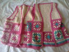 Resultado de imagen para chalecos al crochet para niños