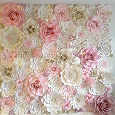 Our 8ft×8ft paper flower wall #paperflowers #floresdepapel #paperflowersbackdrop #paperflowerwall #paper #paperflorist #pareddeflores #partydecoration #papercraft #crafting #birthdaydecoration #northcarolina