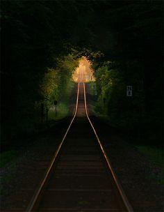 Train Tunnel, Portland, Oregon