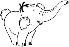 21 best Elephant Coloring Pages for Kids images on Pinterest ...