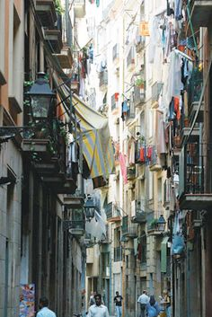 El Raval - one of the cultural hearths of Barcelona