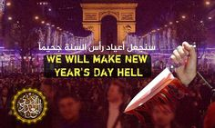 ISIS to 'make New Year's Day hell' and attack 'on foot'   Daily Mail Online