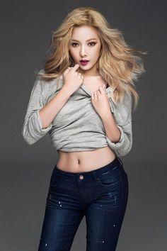 HyunA struts her stuff in figure-hugging jeans from 'Clriden'   allkpop.com